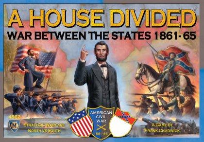 LA copertina del gioco in scatola A House Divided