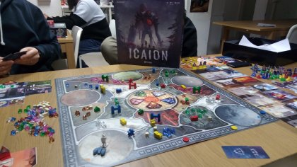Icaion tabellone