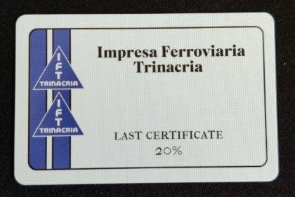 L'ultimo certificato da due azioni di una società di 1849