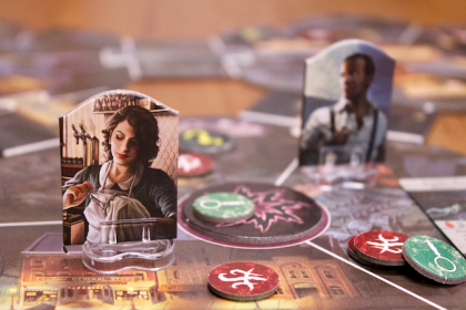 arkham horror 3rd edition close up