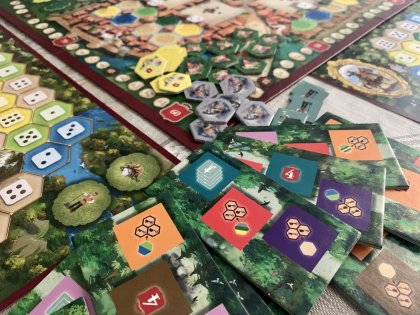 The Castles of Burgundy (20th Ann) - Dettaglio