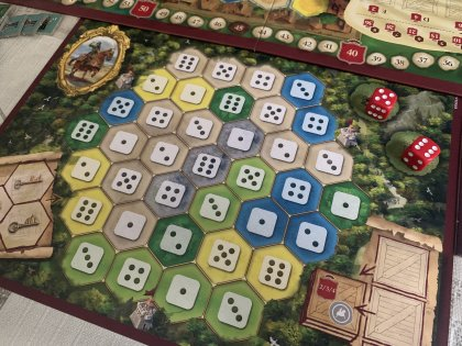 The Castles of Burgundy (20th Ann.) - Plancia giocatore
