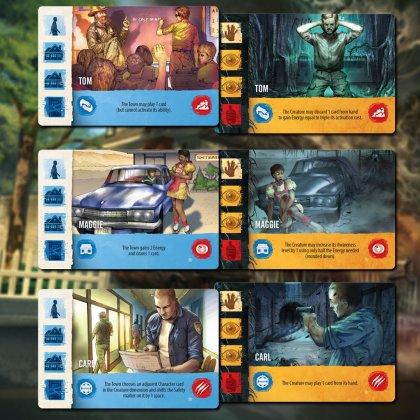 InBetween: carte personaggi