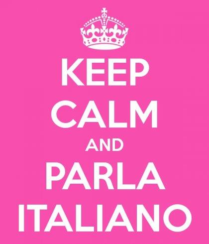 keep calm & parla italiano