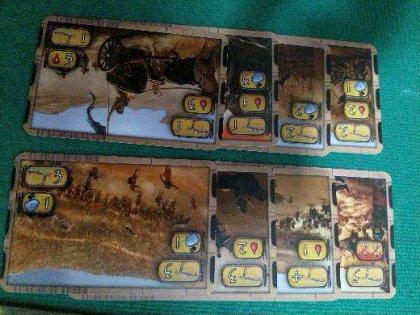 Kemet: carte battaglia