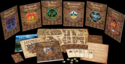 Legacy of Dragonholt: materiali