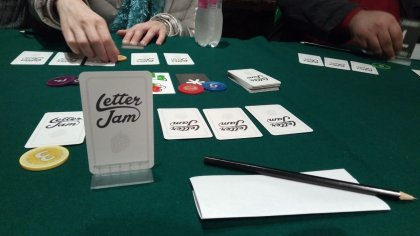 Letter Jam partita