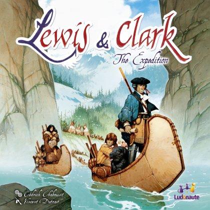 Copertina del gioco Lewis & Clark
