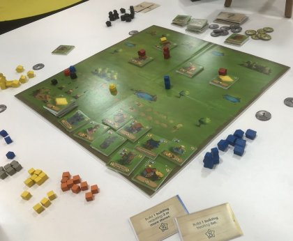 Little Town: tabellone