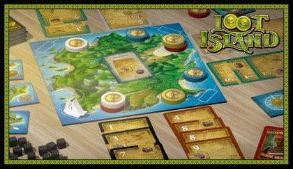Loot Island - componenti