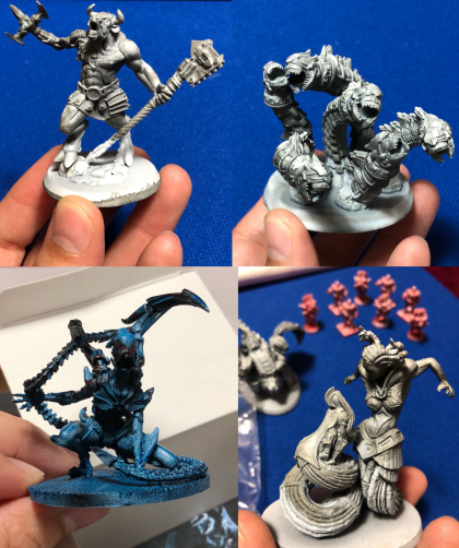 Lords of Hellas miniature