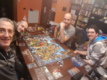 Lords of Hellas - partita in corso