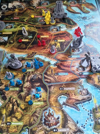 Lords of Hellas: partita in tre