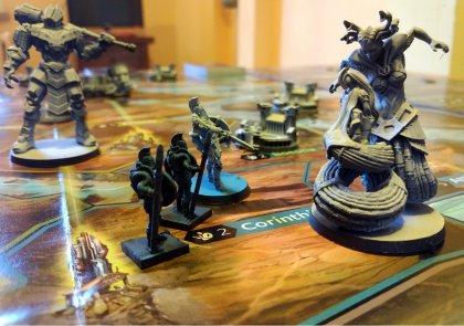 Caccia al mostro, esempio di gioco di Lords of Hellas