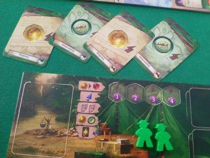 Lost ruins of Arnak: carte e plancia giocatore