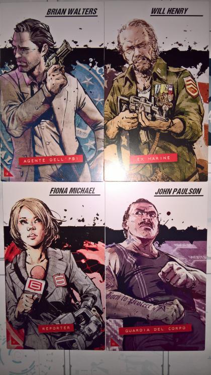 The Marcy Case: personaggi