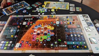 On Mars: partita