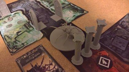 Massive Darkness: ragno gigante
