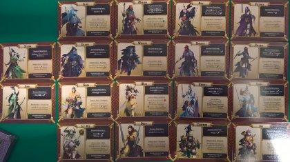 Massive Darkness: carte dei personaggi