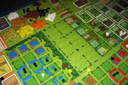 Agricola sul tavolo da gioco