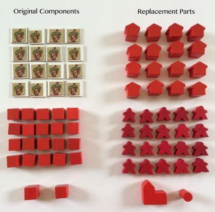 componenti originali e sostitutivi