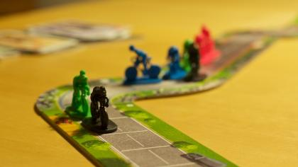 Flamme Rouge: ciclisti