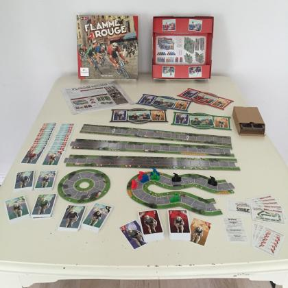 Flamme Rouge componenti
