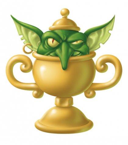 scelto dai goblin logo