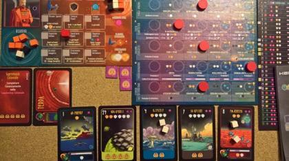 Kepler 3042 partita in corso