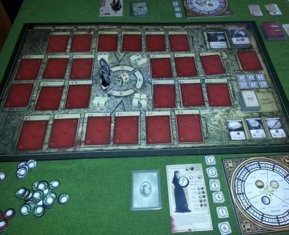 London Dread sul tavolo da gioco