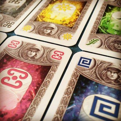 Carte del gioco in scatola L'oracolo di Delphi