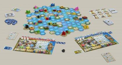 Setup del gioco in scatola L'oracolo di Delphi