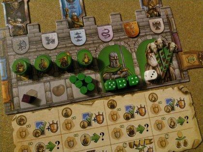Merlin: plancia giocatore