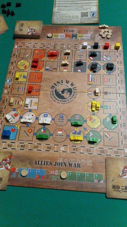 Mini WWII: setup