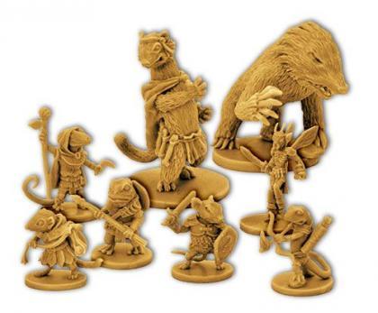 mice and mystics personaggi
