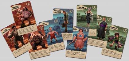 Moonshiners of the Apocalypse: carte vagabondo
