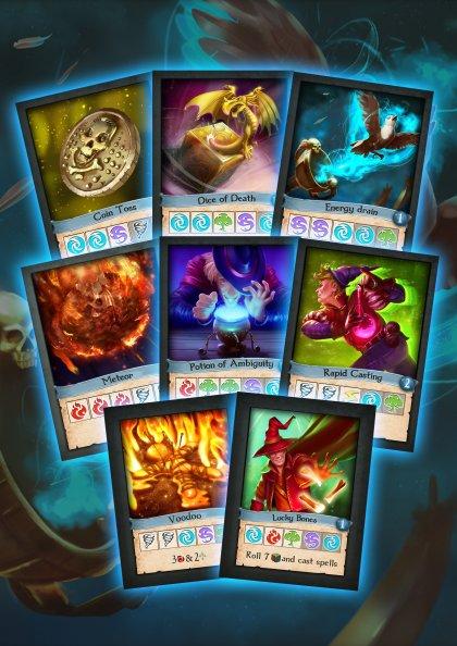 Mystic Scrolls - Carte incantesimo