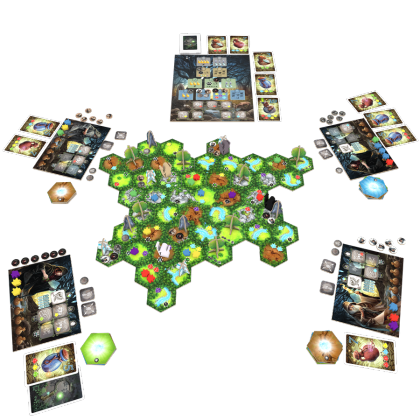 Nemeton: materiali di gioco