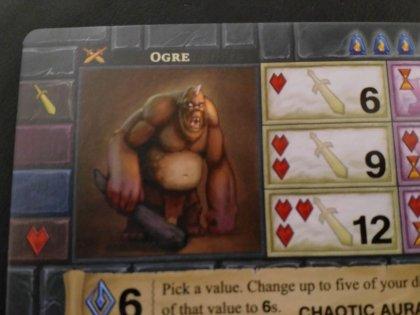 One Deck Dungeon: mostro