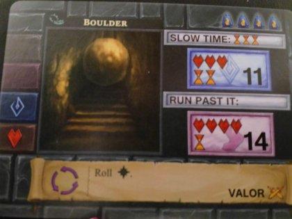 One Deck Dungeon: trappola