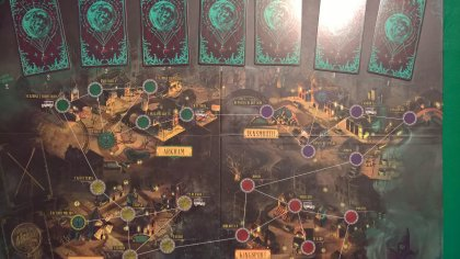 Pandemic Cthulhu: tabellone