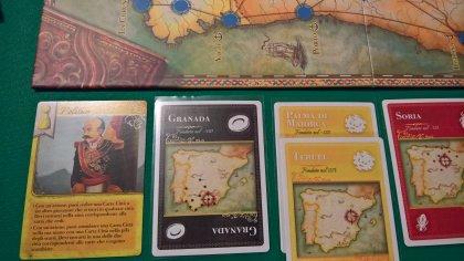 Pandemic Iberia: postazione giocatore