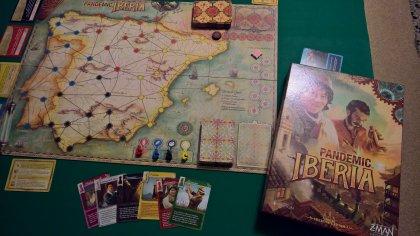 Pandemic Iberia: materiali