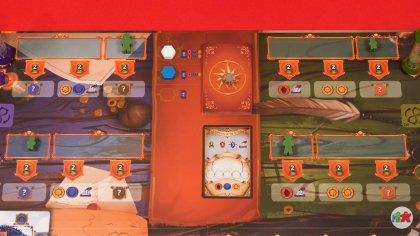 Pendulum: tabellone di gioco