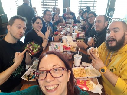 Play 2017: pranzo