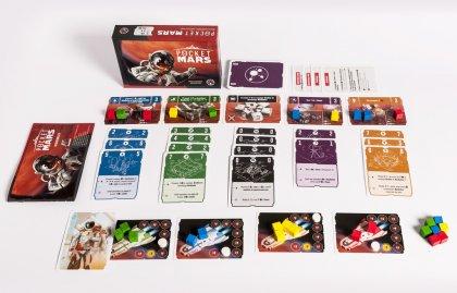 Pocket Mars: componenti