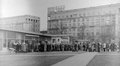 Varsavia, code negli anni Ottanta