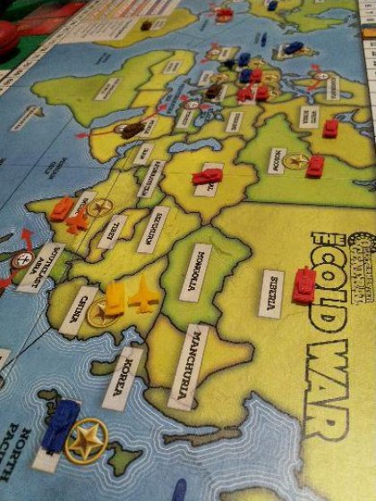 Quartermaster General: The Cold War - partita