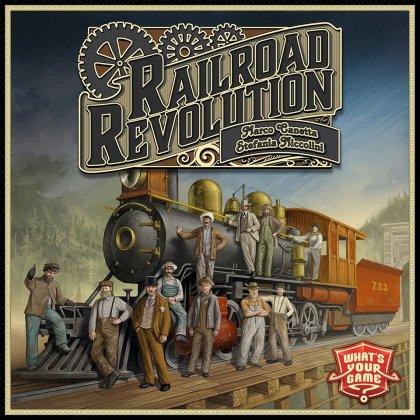 Copertina di Railroad Revolution, un gioco ferroviario