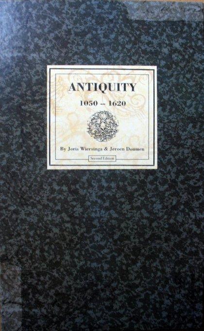 Copertina di Antiquity